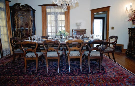 """The Kell House Museum will have its very first formal dinner in decades beginning at 7 p.m. Friday Feb 1 with a """"Golden Age of Hollywood"""" theme. Attendance is limited to 12 diners, and tickets may be purchased on the website, Wichita-Heritage.org or calling the Museum at (940) 723-2712"""