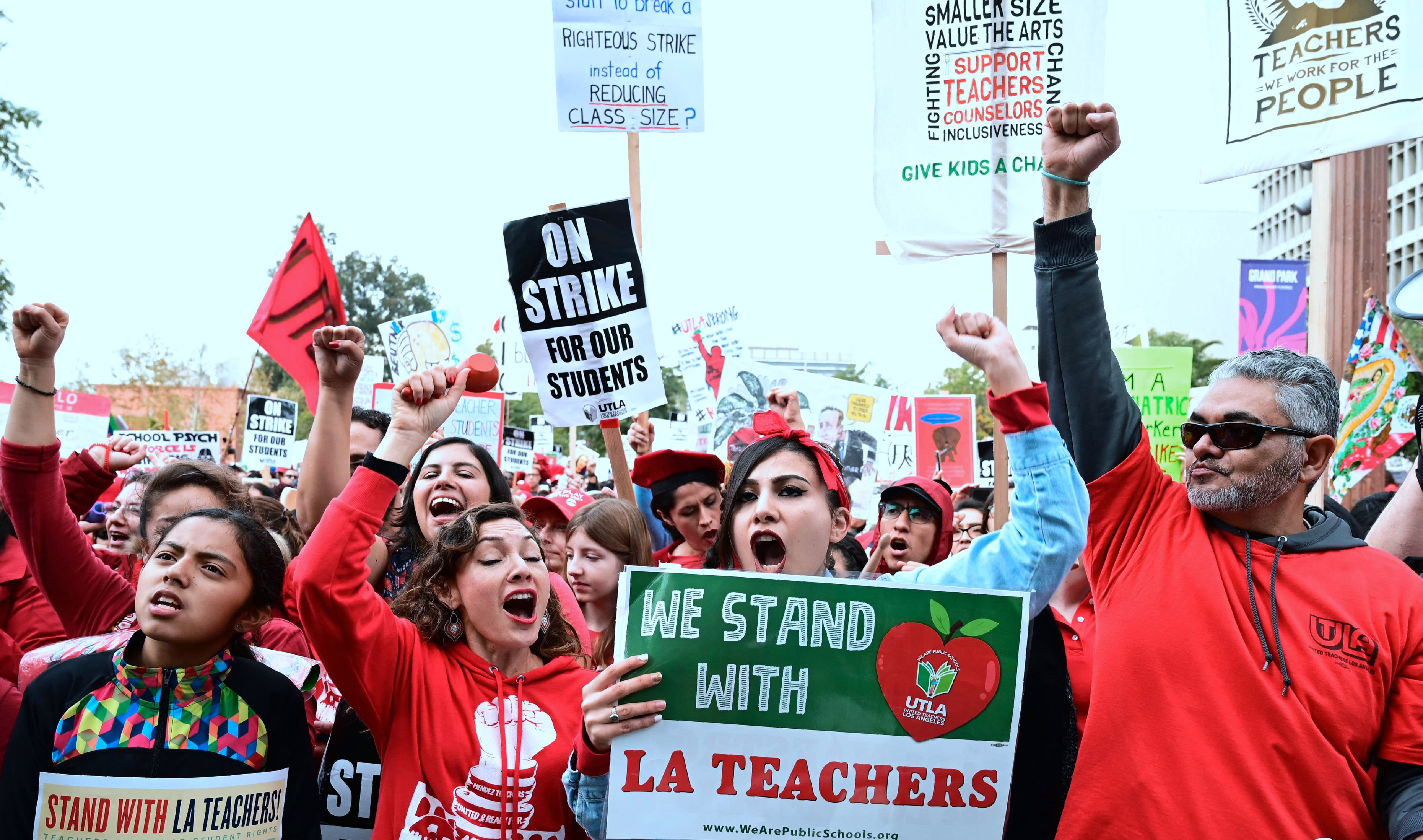 My special needs students needed their teachers in the classroom — not on the picket line