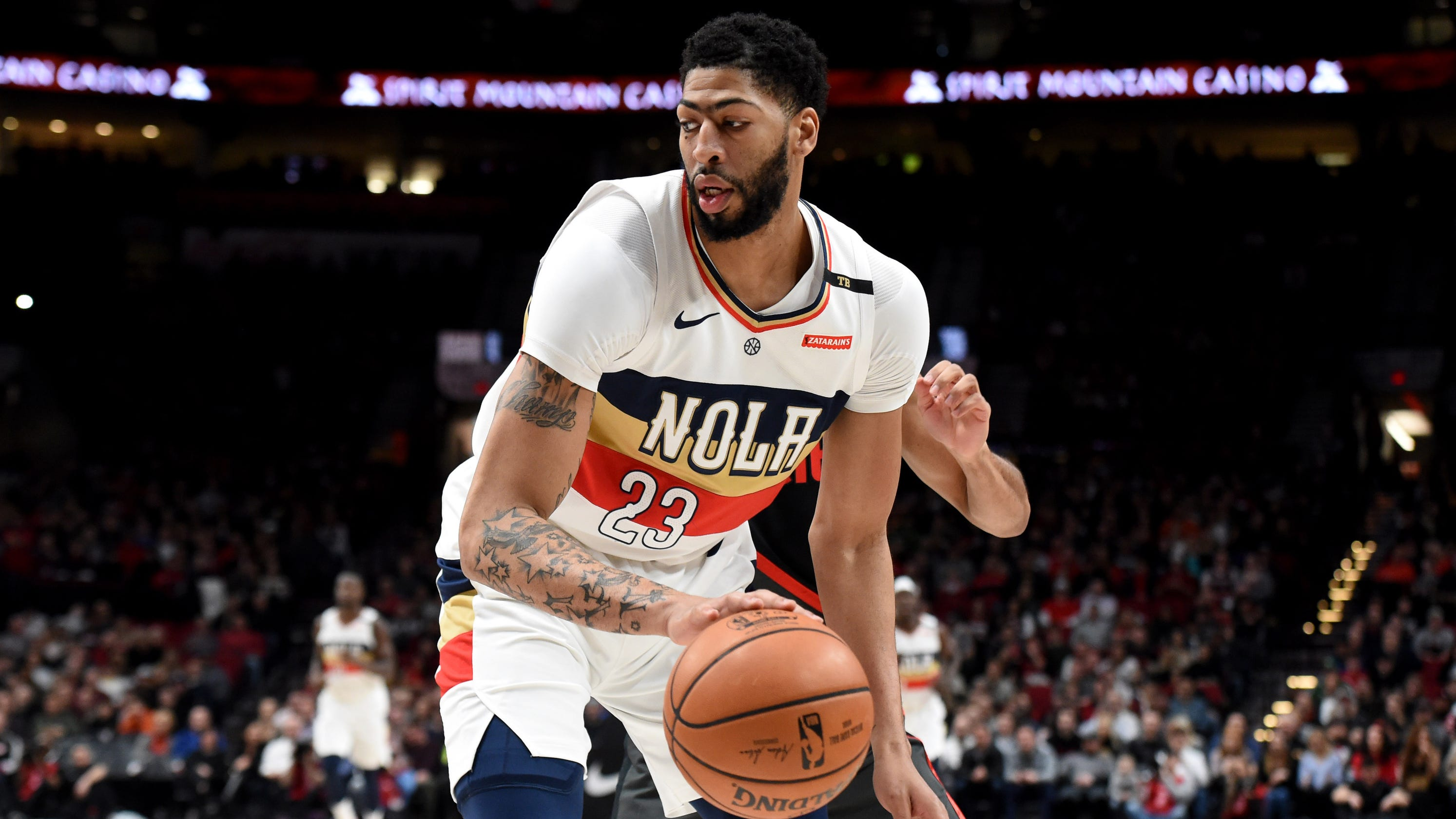e223f4b26d2a Anthony Davis wants out  NBA has a trade request problem