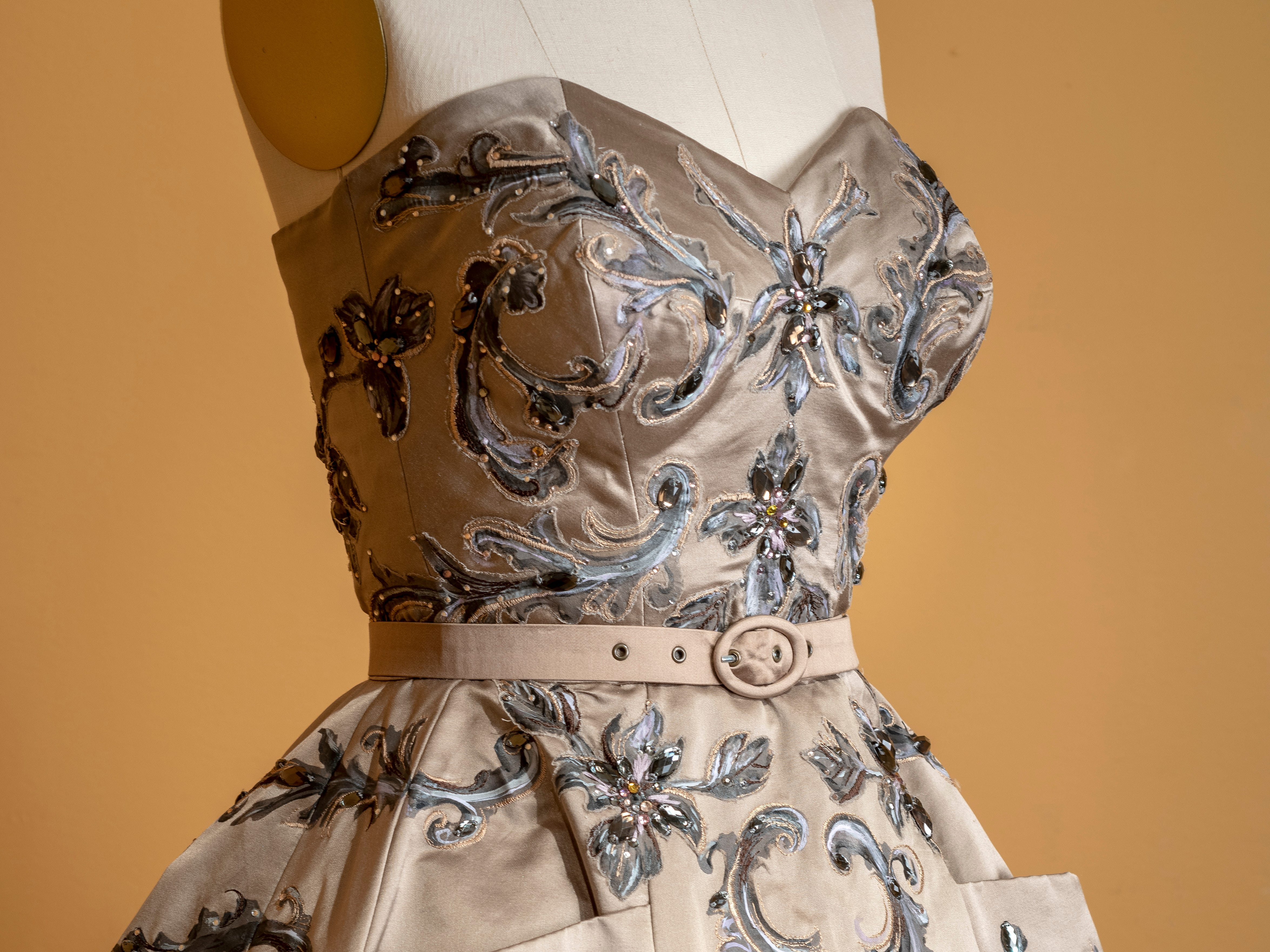 """Coming to Winterthur, Delaware — in a former du Pont estate that is now a museum — is the first major exhibition of costumes from the show """"The Crown."""""""