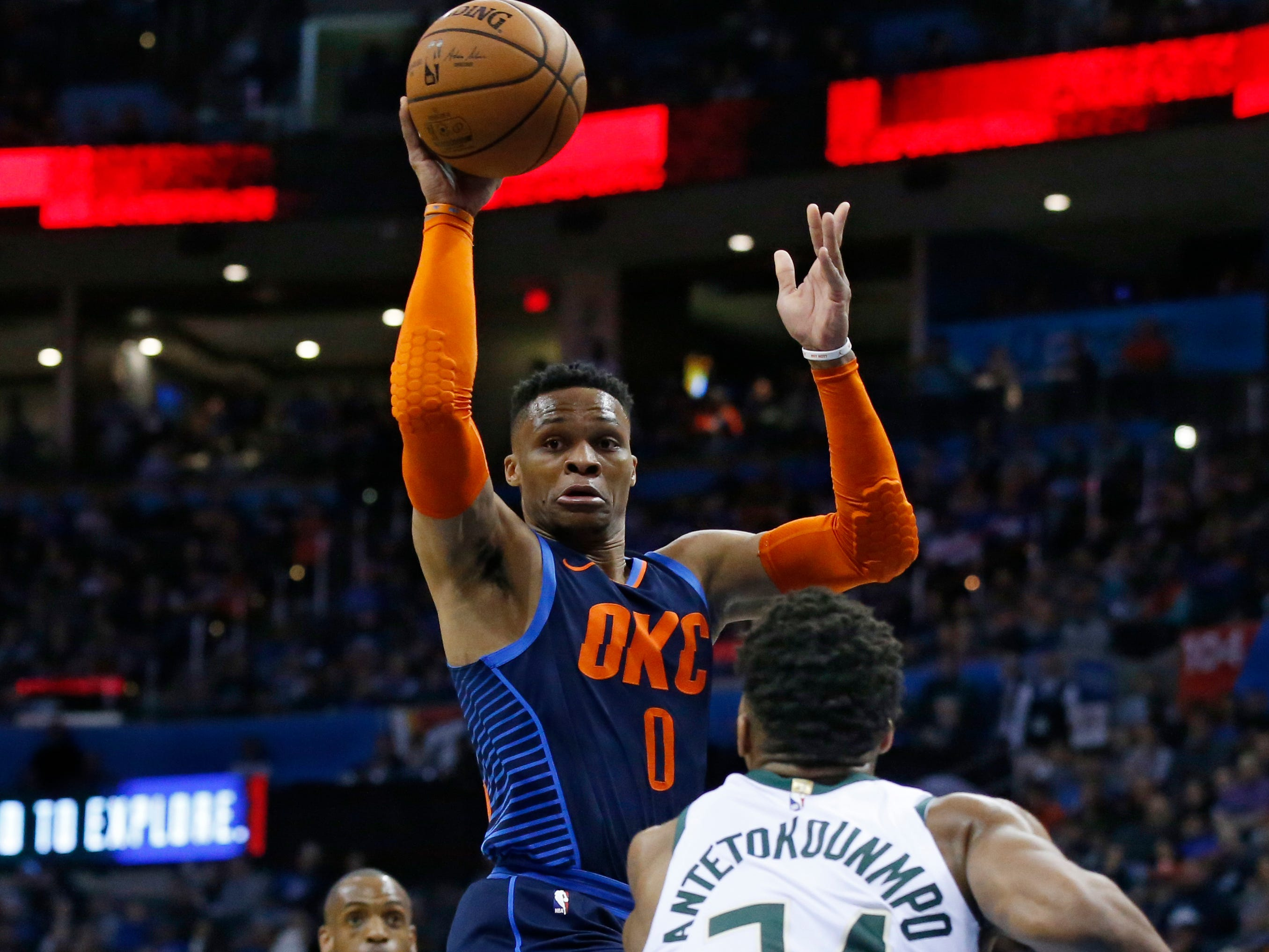 65. Russell Westbrook, Thunder (Jan. 27): 13 points, 13 rebounds, 11 assists in 118-112 win over Bucks (16th of season).