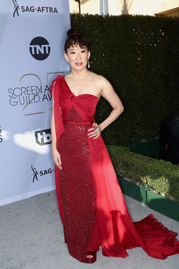 Celebrity Fashion: Sandra Oh