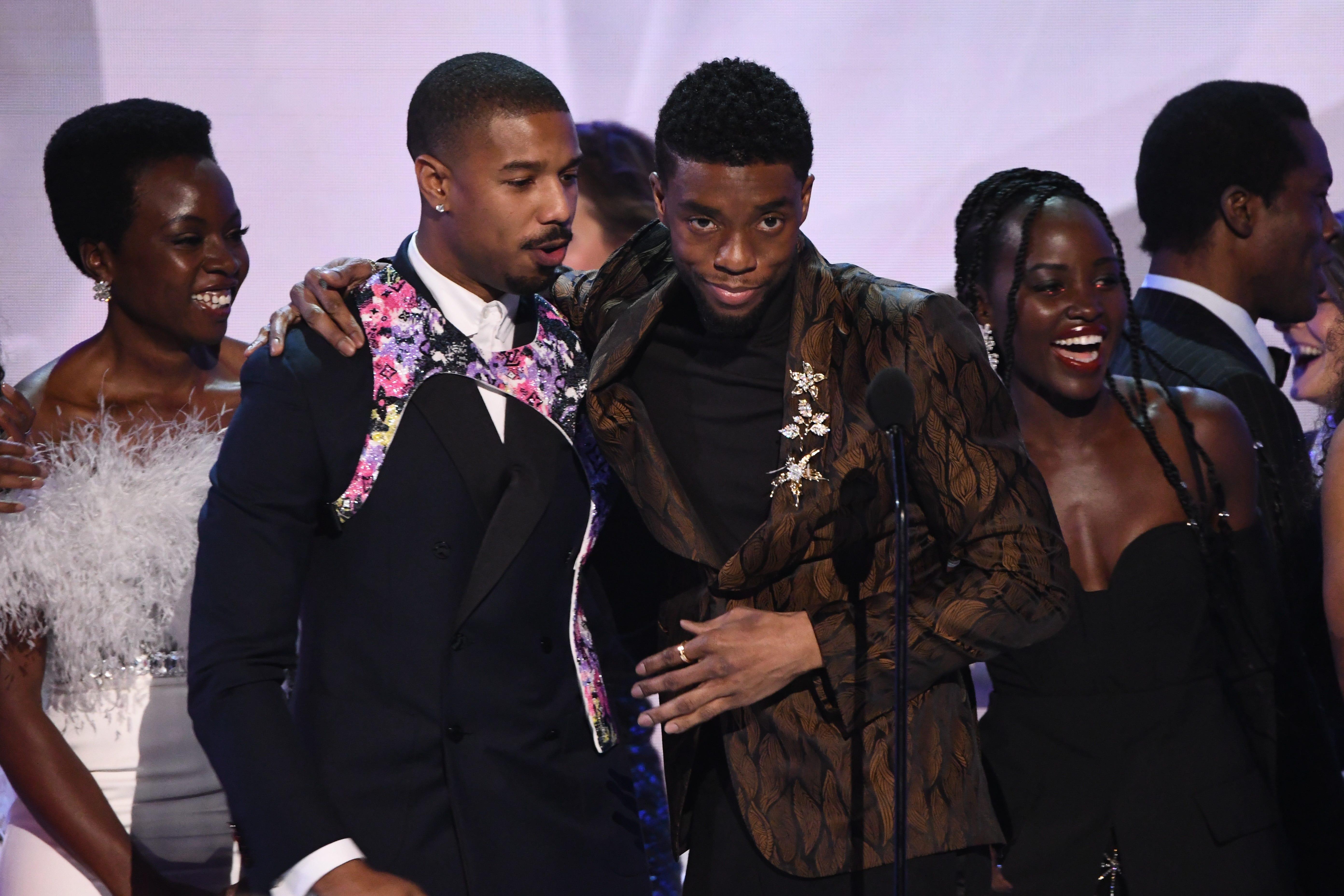 movie 2019 black SAG Awards 2019 Black Panther Wins Best Movie Ensemble