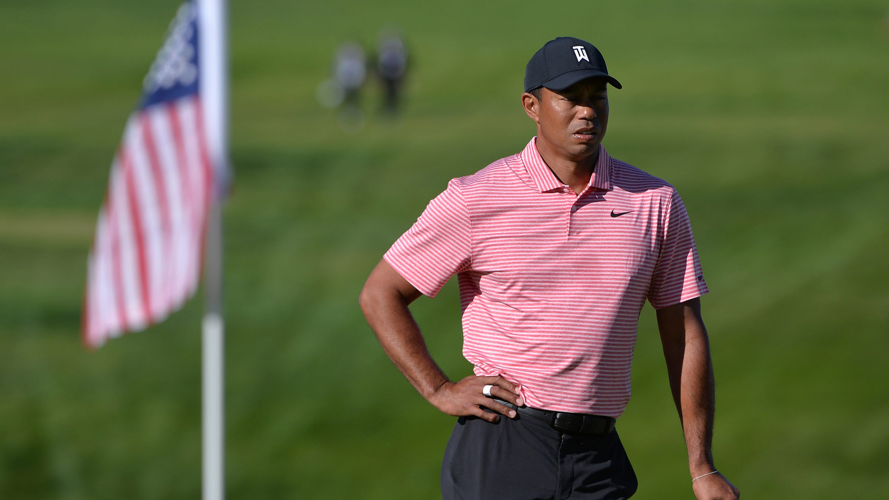9d502b9468024 Tiger Woods gets moral win at Torrey Pines with late final-round surge