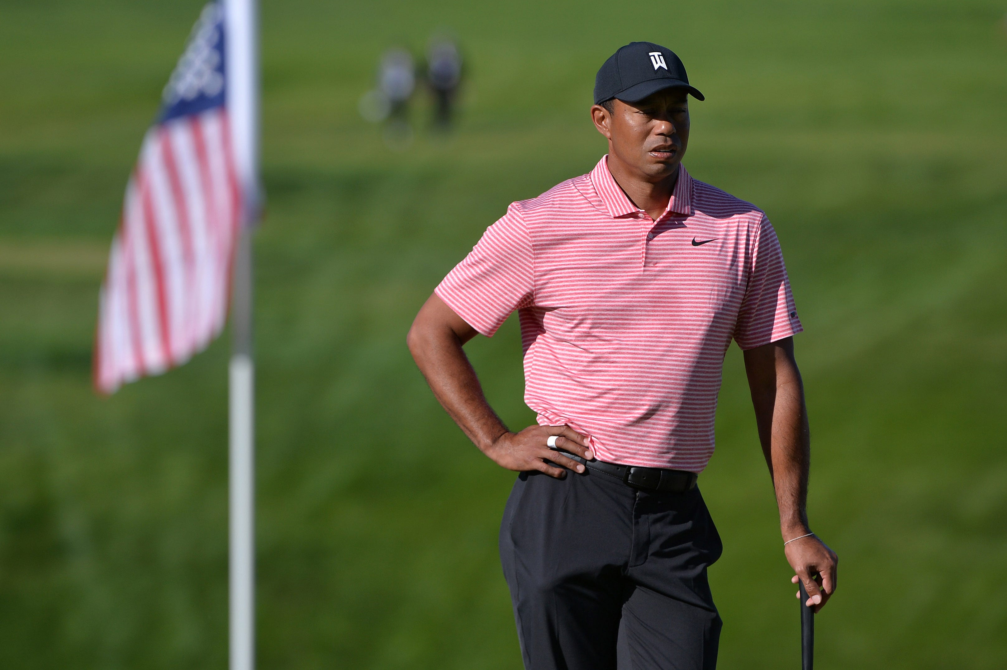 tiger woods gets moral win at torrey pines with late final