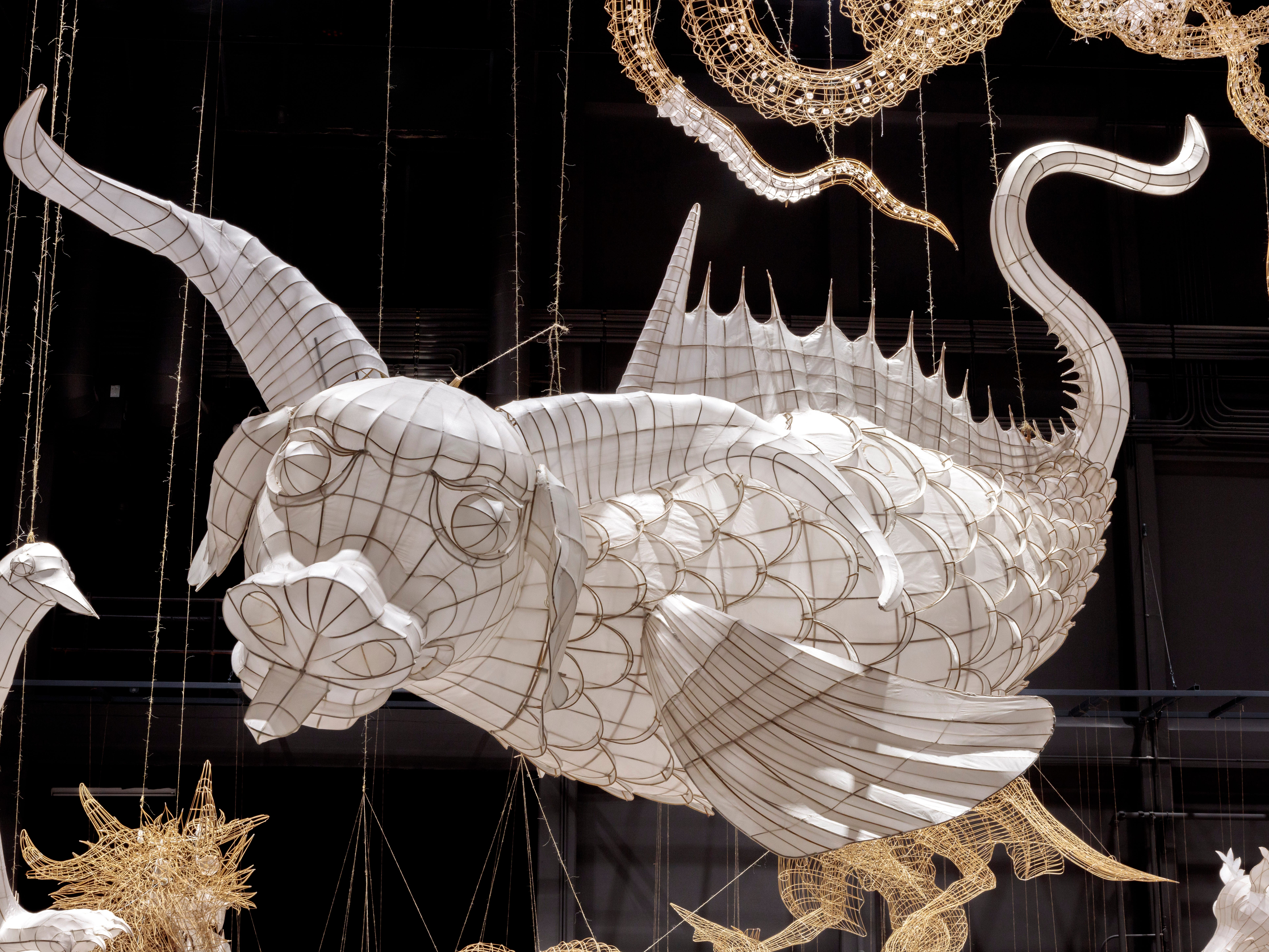 """""""Life Cycle"""" is being described as """"a sculptural response to the global refugee crisis."""""""