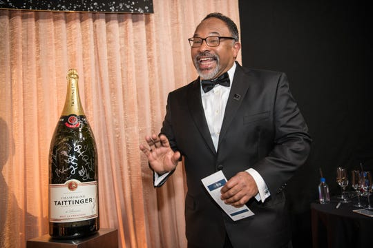 Geoffrey Owens at the 25th annual Screen Actors Guild Awards cocktail party, Jan. 27, 2019.
