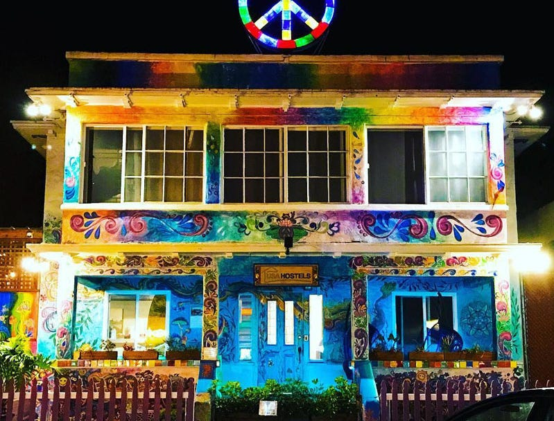 Usa Hostels Ocean Beach in San Diego, California, is the No. 7 best hostel for solo male travelers.