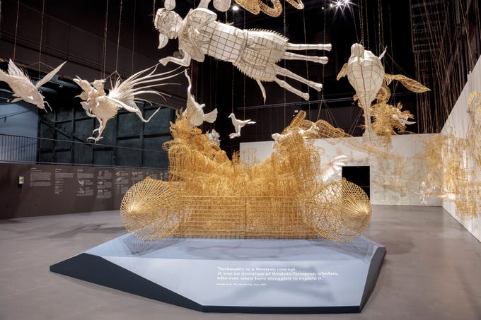 Los Angeles has been home to a few Ai Weiwei exhibitions since last fall, including at the Marciano Art Foundation, which is hosting a new work by the Chinese artist and human rights activist.