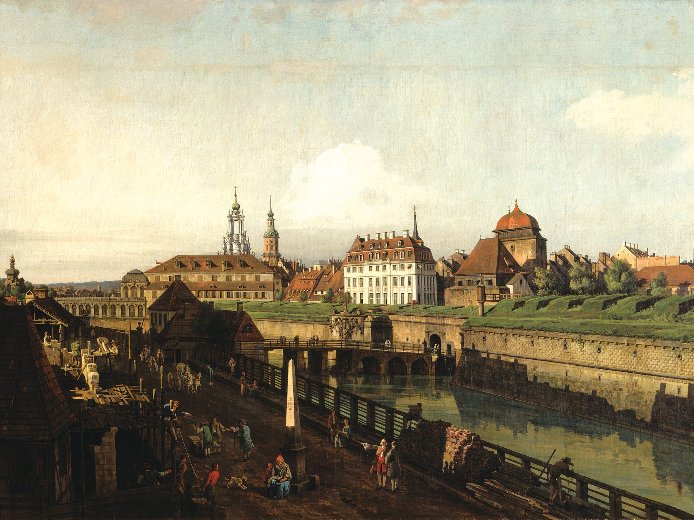 Thanks to a loan from the Gemäldegalerie of the Dresden State Art Collections, Bernardo Bellotto's work can be seen in Fort Worth, Texas, this winter.