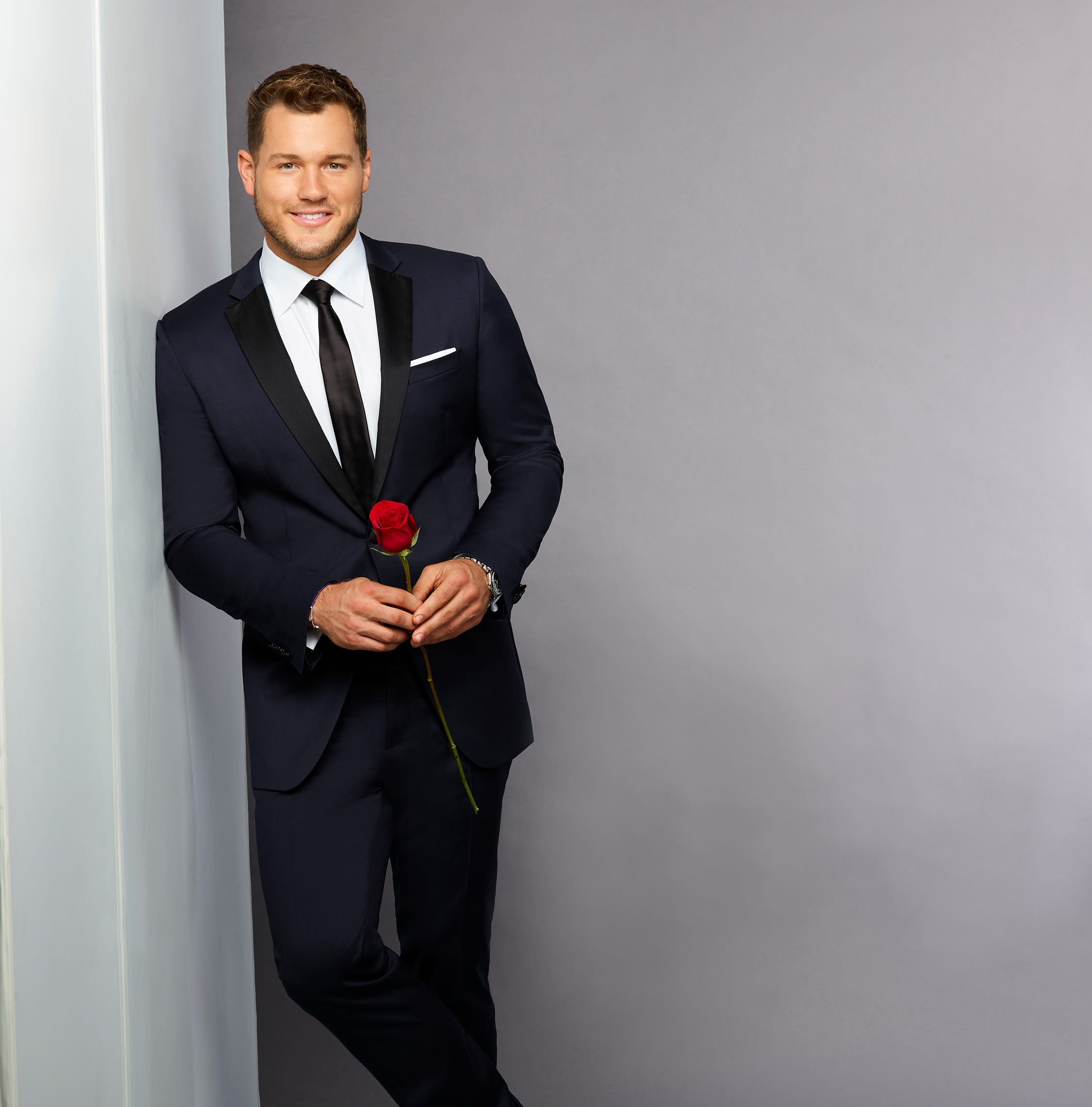 "THE BACHELOR - Colton Underwood burst onto the scene during season 14 of ""The Bachelorette."" It was his good looks, love for dogs and vulnerability that charmed not only Bachelorette Becca Kufrin, but all of Bachelor Nation. This former NFL player made a play for BeccaÕs heart but was sadly sent home after professing he had fallen in love. Now Colton is back and ready to capture hearts across America yet again when he returns for another shot at love, starring in the 23rd season of ABCÕs hit romance reality series ""The Bachelor,"" when it premieres in January 2019. (ABC/Craig Sjodin)