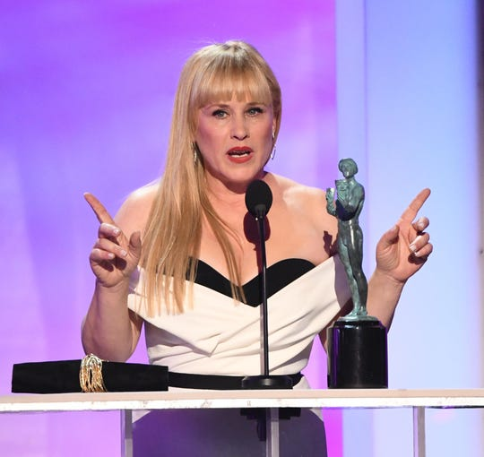 For those keeping track, Patricia Arquette gave another speech for the ages.