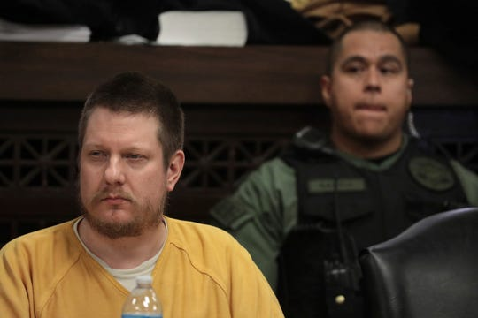 Chicago police officer Jason Van Dyke attends his sentencing hearing.