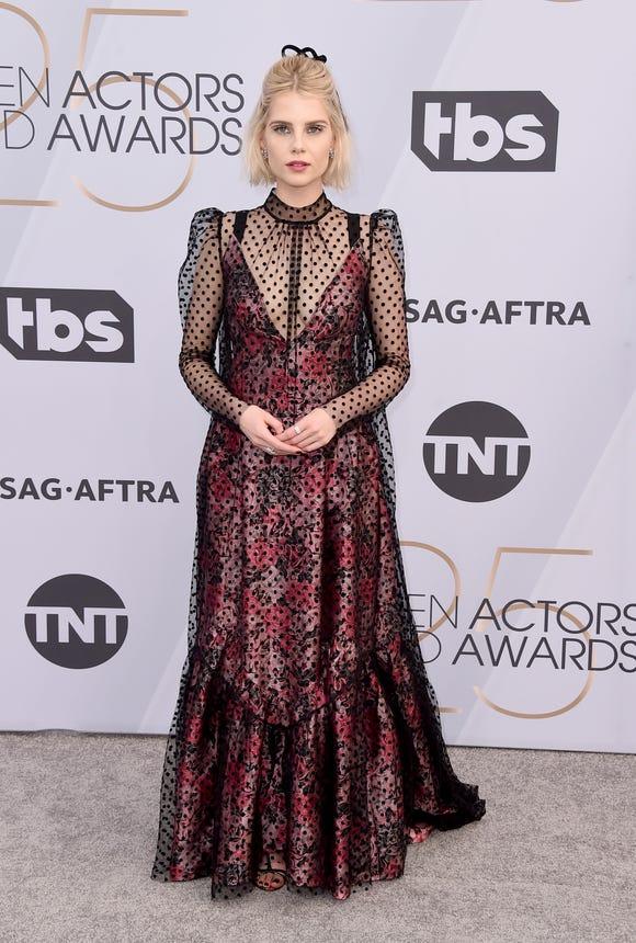 Celebrity Fashion: Lucy Boynton