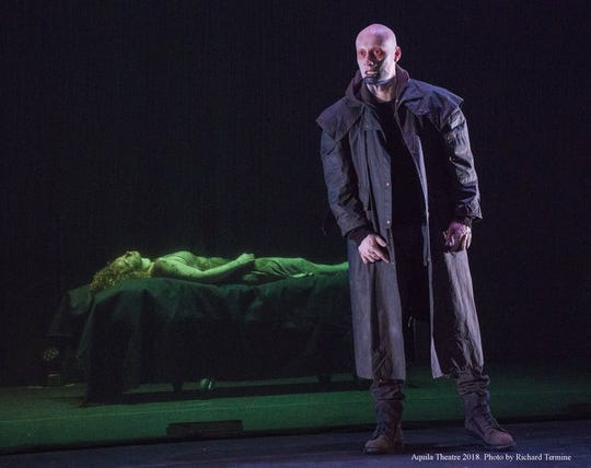 The Arts Council of Central Louisiana is will present Aquila Theatre's Frankenstein on Friday, Feb. 22 at the  Coughlin-Saunders Performing Arts Center.