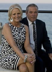 Carolynn and Bob Diakon in Long Branch in a 2010 file photo.