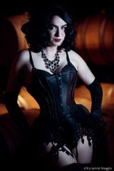 Attica Wilde performs Feb. 16 at The Asbury as part of the NJ Burlseque Valentine's Show.