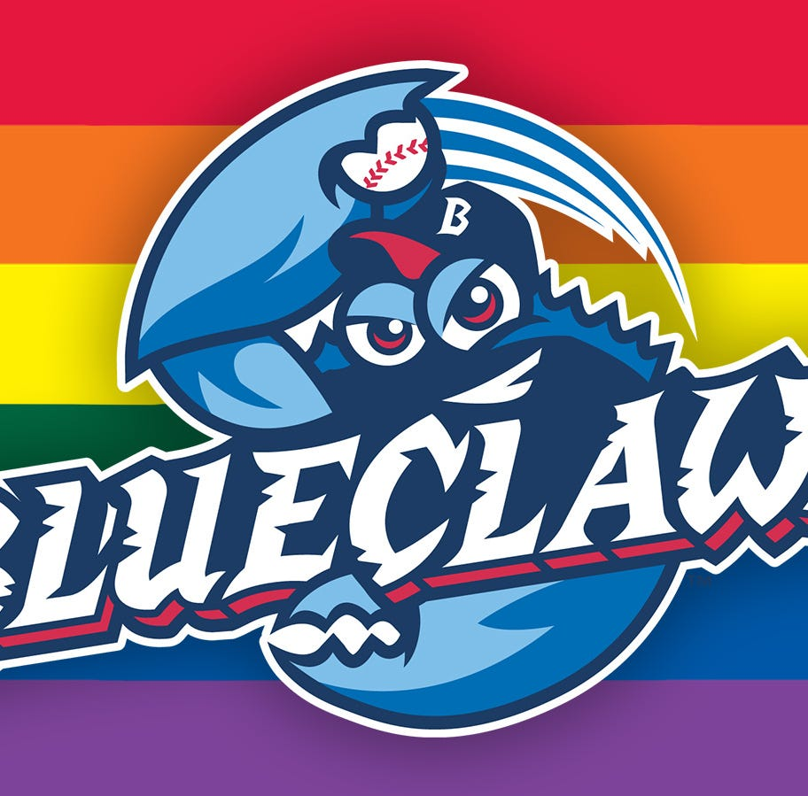 Lakewood BlueClaws hosting LGBTQ Pride Night for first time