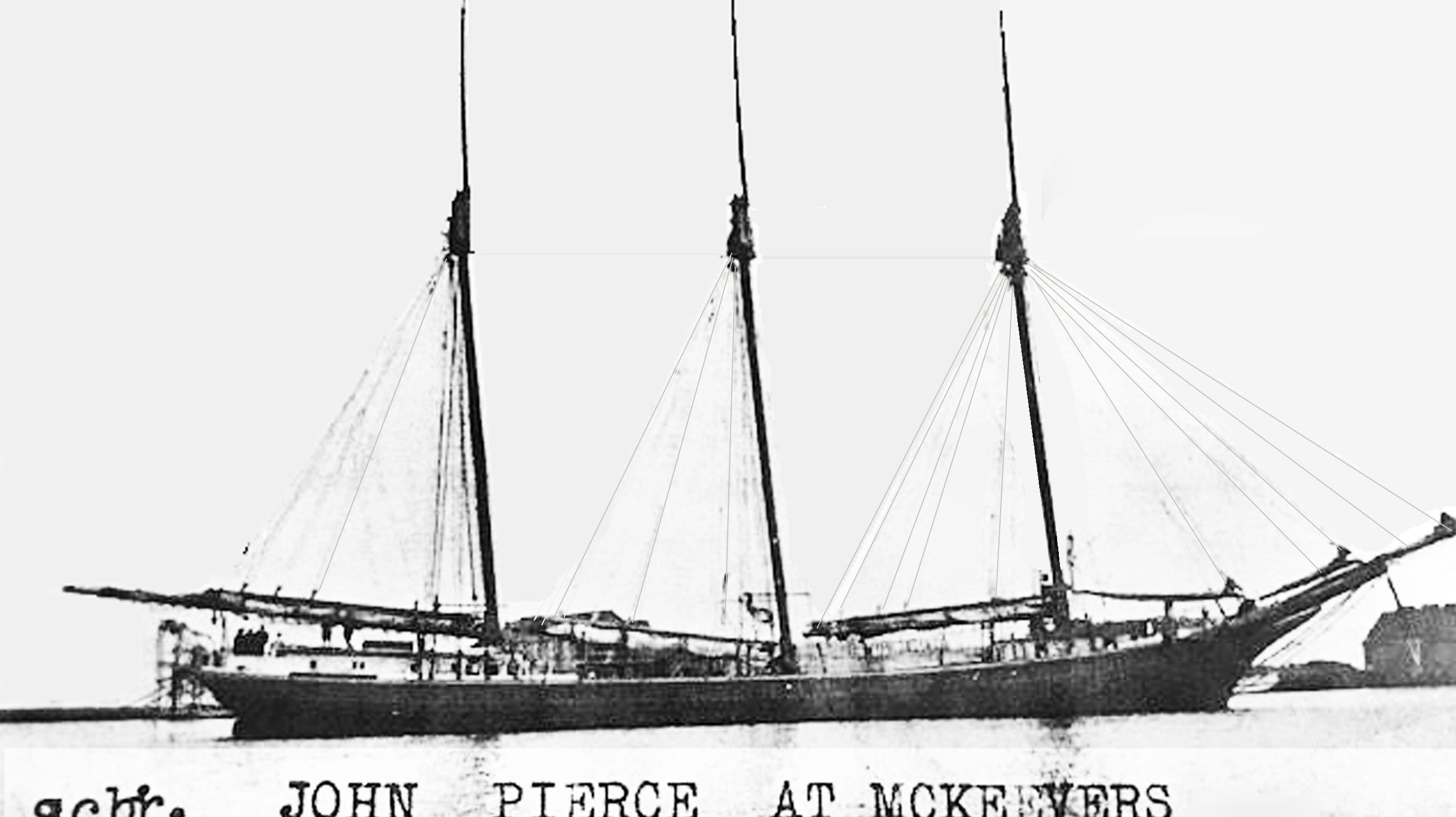Who owned the Schooner John Pierce?