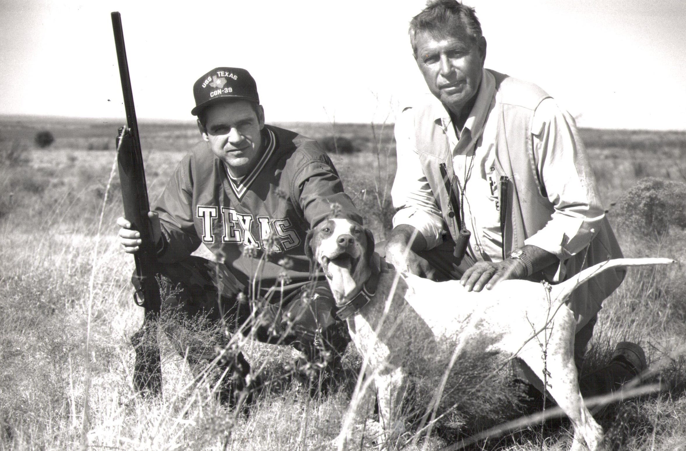 Participants at a previous Big Country Celebrity Quail Hunt.
