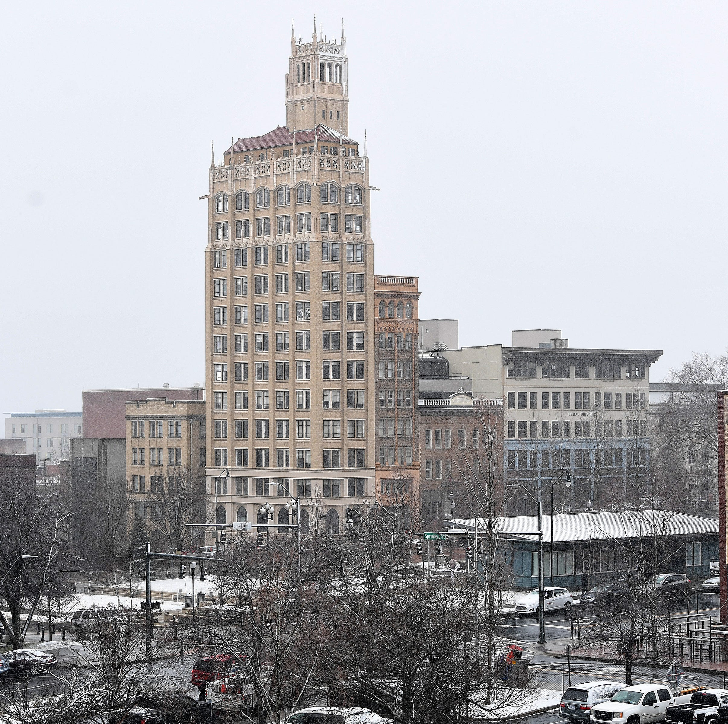 Could it snow next week in Asheville? Forecasters 'keeping an eye out' for it.
