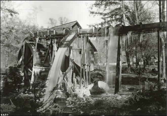 The Beech community had its own gristmill on Reems Creek in the early 1900s. No trace of it remains.