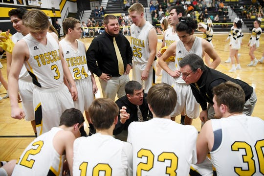 Tuscola defeated Reynolds 77-65 Jan. 28, 2019 in Waynesville.