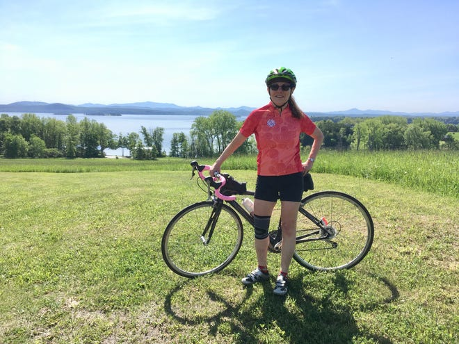 When Wendy Clinch, of Plymouth, crashed her bike in July 2018, her husband was unable to reach emergency services on a cellphone. She said passing tourists gave her a ride to a medical clinic.