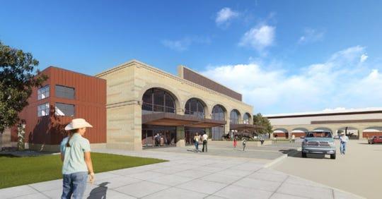 Pictured is a rendering of what future improvements to Kingsville's J.K. Northway Exposition Center could look like, according to a master plan approved in 2017.