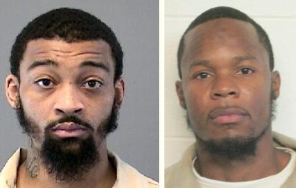 A state appeals court has overturned murder convictions for Carey Greene, left, and Tyleek Lewis of Burlington County.