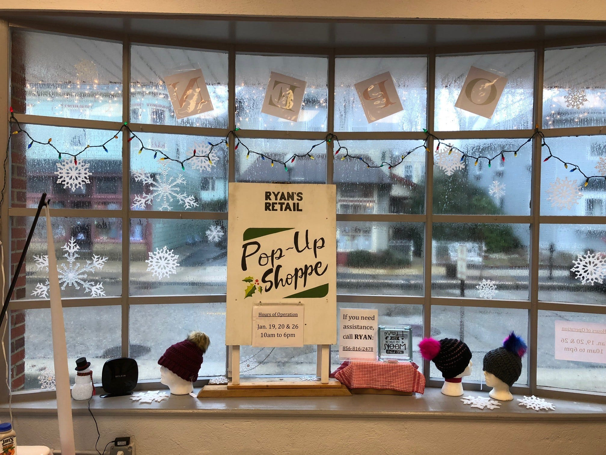 Ryan's Retail started as a holiday pop-up spot and has expanded into a Wednesday-through-Sunday schedule for local merchants. The market is held inside the old post office in Merchantville.