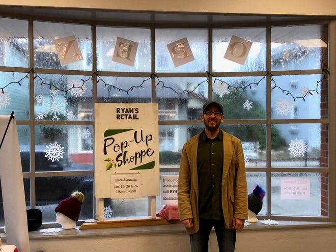 Ryan Middleton, who moved to Merchantville from Texas six years ago, said he's investing in the community with the purchase of the town's old post office. Middleton envisions the property as a multiuse facility with a commissary kitchen, but for now, he's renting out spaces to pop-up merchants.