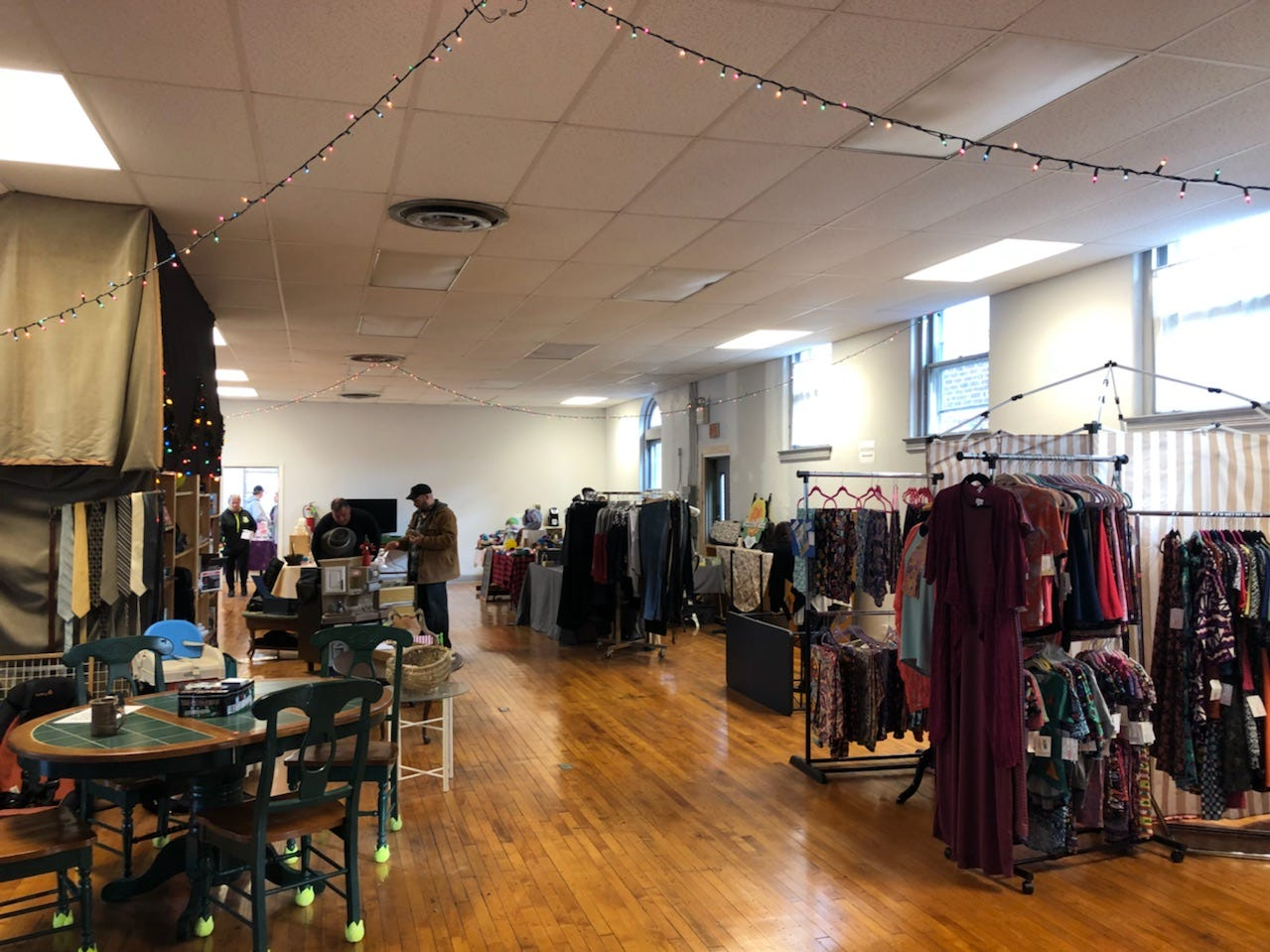 The old post office in Merchantville is being used as a pop-up space for local makers and retailers.