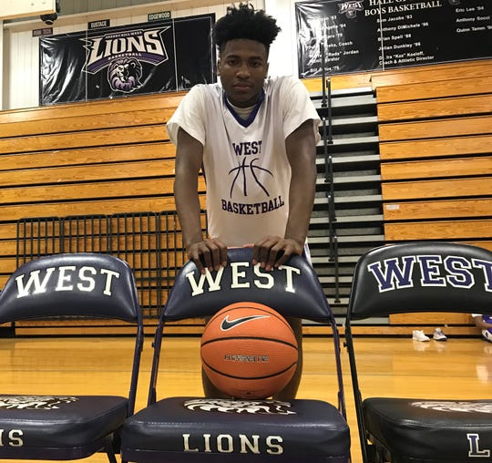 Cherry Hill West junior Hakim Melvin had to sit the first 30 days of the basketball season after transferring from Camden Catholic. He recently returned to the court and has made an immediate impact for the Lions.