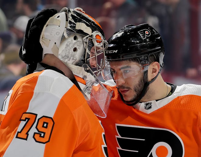 Carter Hart has won his last four games and the Flyers have been able to put enough other pieces together to look like a solid team.