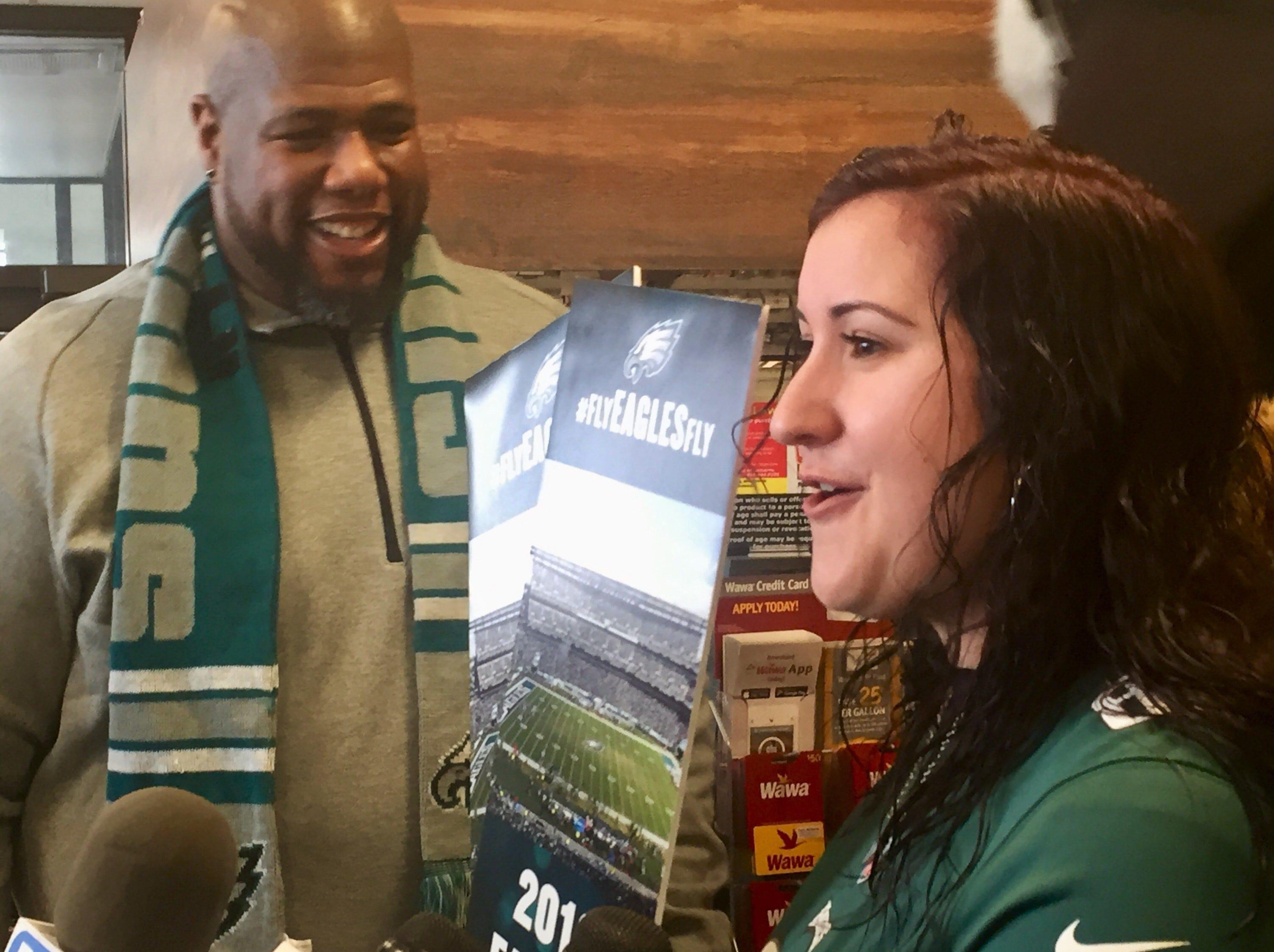 Eagles fan finds sweet treat in candy bar
