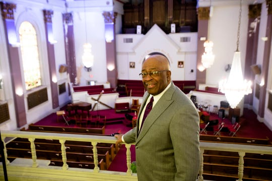 Steve Reece is chairman of the trustee board at New Friendship Baptist Church in Avondale.