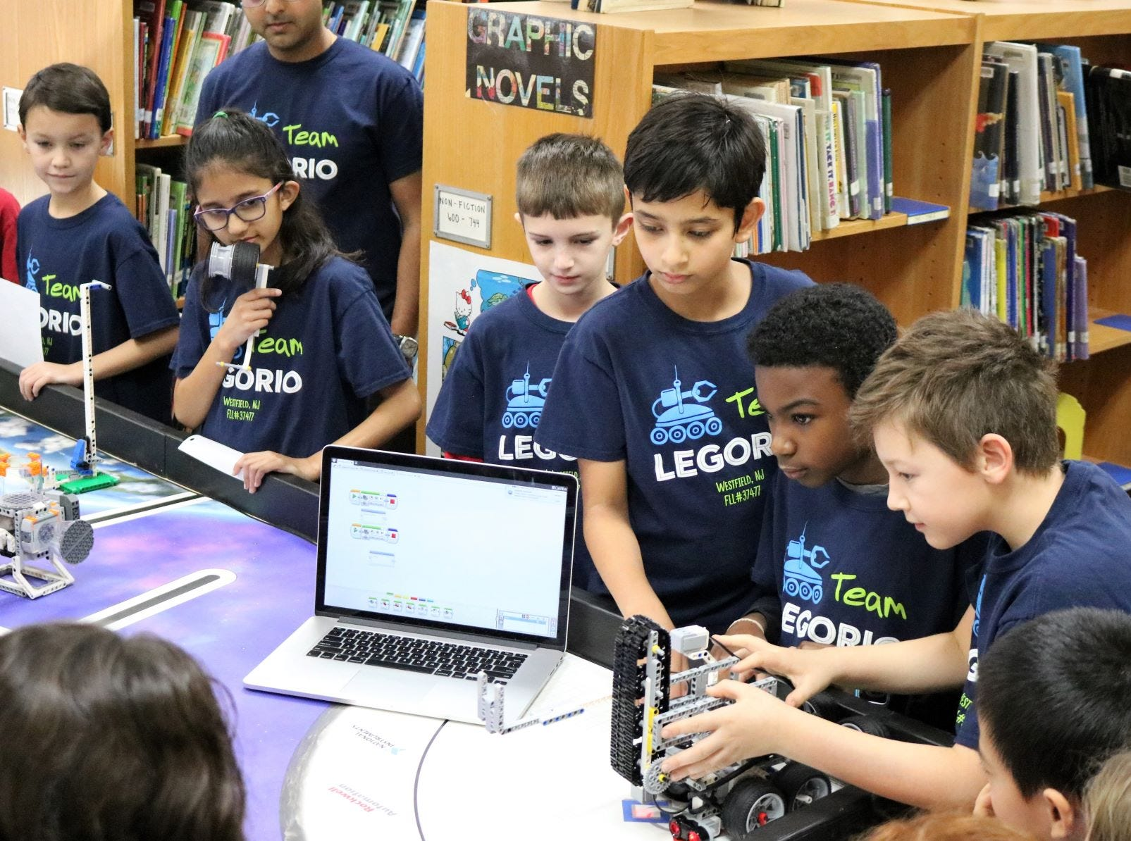 STEM and STEAM opportunities abound for students, such as these Jefferson pupils, across the Westfield Public School District.