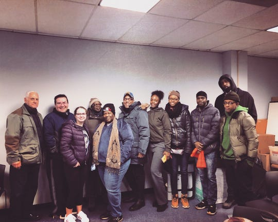 CAU's Transitional Opportunities Program members and staff searched the streets of Union County during the wee hours of the morning to find individuals in need of social services. Their efforts contributed to a nationwide endeavor to capture data on homelessness in local communities.
