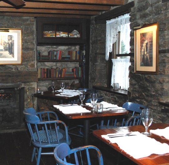 The 18th-century Sergeantsville Inn has cozy corners and original woodburning fireplaces.