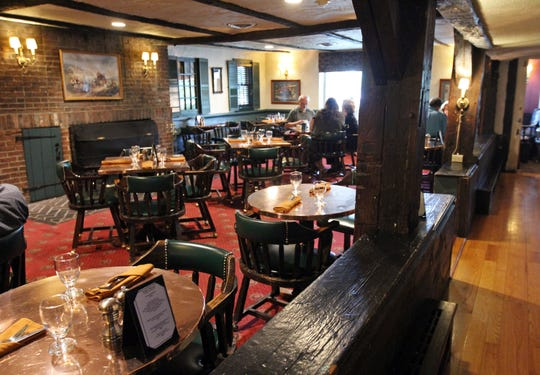The Coppertop Pub is located in the Grain House Restaurant, which was built in 1768.
