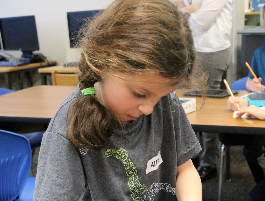 STEM and STEAM opportunities abound for students, such as this Tamaques pupil, across the Westfield Public School District.