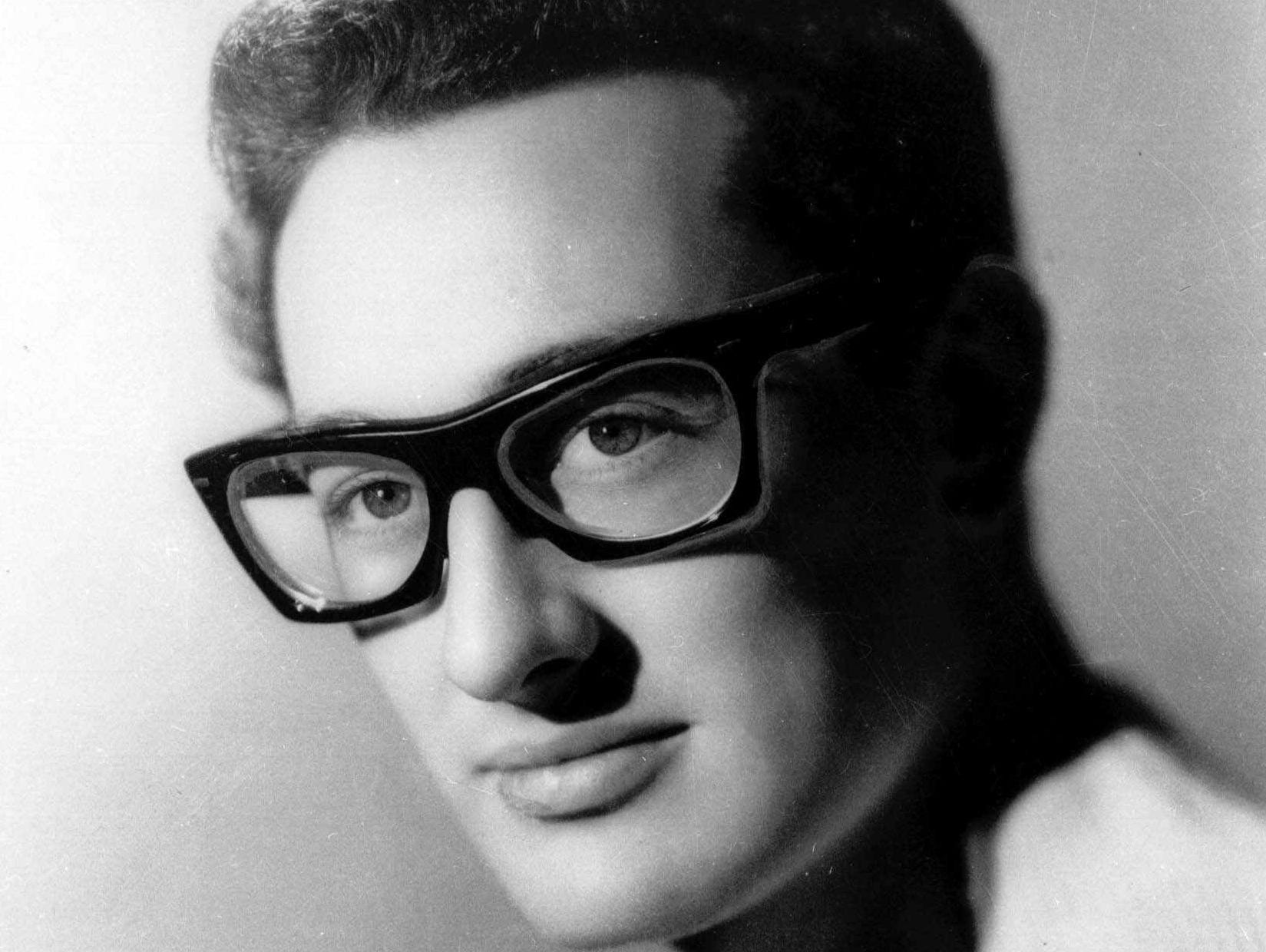This is an undated file photo of Buddy Holly who died in 1959. For thousands of '50s rock 'n' roll fans who travel each year to the Surf Ballroom in Clear Lake, Iowa, the music lives on and remains reason for an annual celebration to honor Holly, Ritchie Valens and J.P. ``The Big Bopper'' Richardson who died Feb. 3, 1959, just after performing at the Surf. (AP Photo/File)