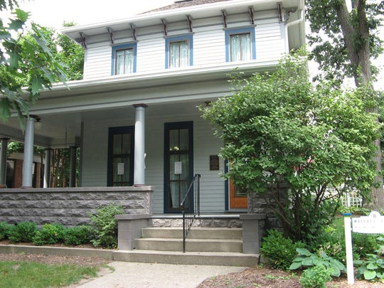 Wallace House is located at 756 16th Street in Des Moines.