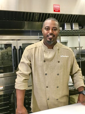 Chef Maxcel Hardy is owner of River Bistro and COOP Caribbean Fusion.