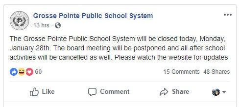 Social media is adding a layer of stress to school districts when it comes to snow day declarations.