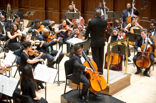 The Sphinx Symphony Orchestra will perform Saturday evening at Detroit's Orchestra Hall.