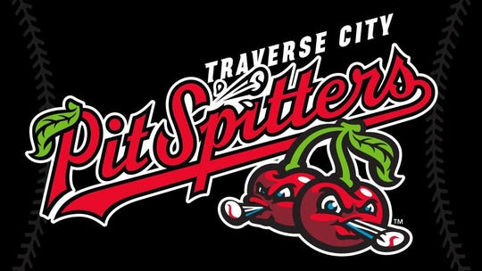 The new logo for the Traverse City Pit Spitters of the Northwoods League.