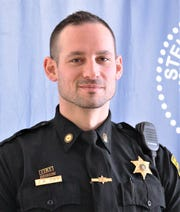 Steuben County sheriff's deputy Joshua Day is New York state Deputy of the  Year.
