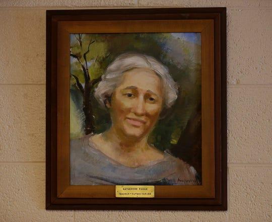 Katherine Evans is the namesake of Evans Elementary School.